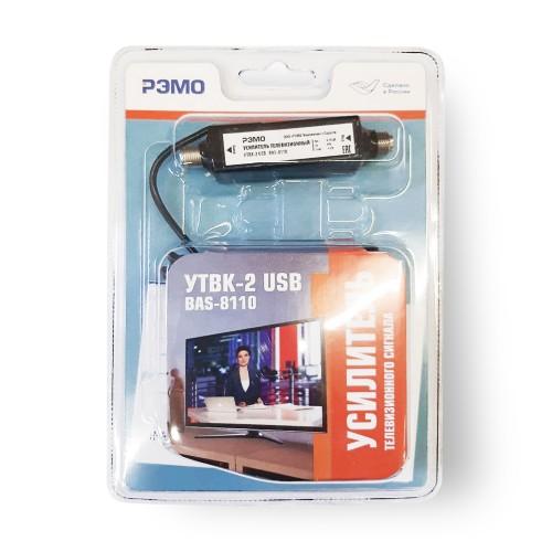 """Усилитель сигнала ТВ антенны """"УТВК-2-USB BAS-8110"""""""